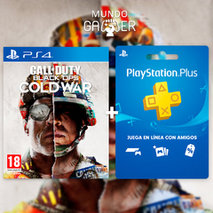 COD Black Ops Cold War + Playstation Plus - comprar online
