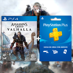 Assassins Creed Valhalla + Playstation Plus