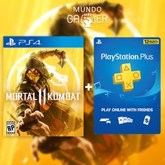 MORTAL KOMBAT 11 + PS PLUS 12 MESES