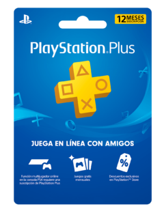 Playstation Plus 12 Meses (CODIGO)