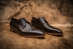 Zapato Brescia Total Brown - Vincenzo