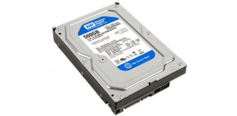 HD WESTERN DIGITAL 500GB SATA III 32MB BLUE