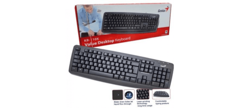 TECLADO GENIUS KB-110X USB BLACK