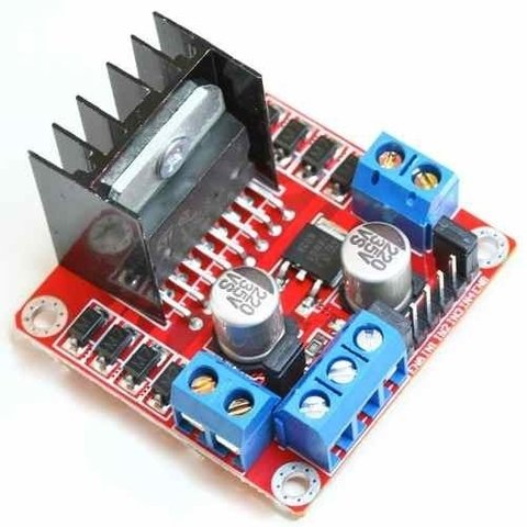 Drive Controle Motor, Ponte H Arduino - Pic, Motor DC, L298N