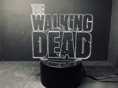 Luminária Led 3d The Walking Dead Zumbi Twd - comprar online