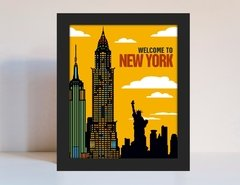 Quadro New York Decorativo Mod. 9