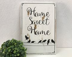 Placa Decorativa Home Sweet Home - comprar online