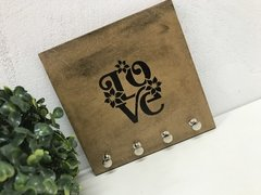 Porta Chaves Chaveiro Decor Love - comprar online