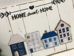 Placa Decorativa Entrada Home Sweet Home