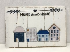 Placa Decorativa Entrada Home Sweet Home - comprar online
