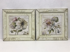 Conjunto Kit Quadros Decorativos Lavabo 33x33
