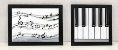 Quadros Decorativos Piano Música