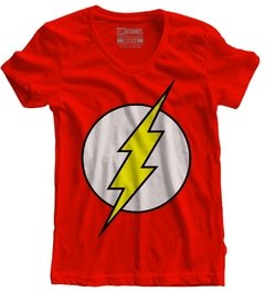Camiseta feminina The Flash Logo Classico