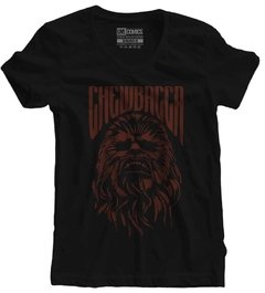 Camiseta Baby Look Chewbacca