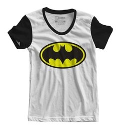 Camiseta Baby Look - Batman Logo na internet