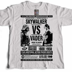 Camiseta Skywalker vs Vader Star Wars