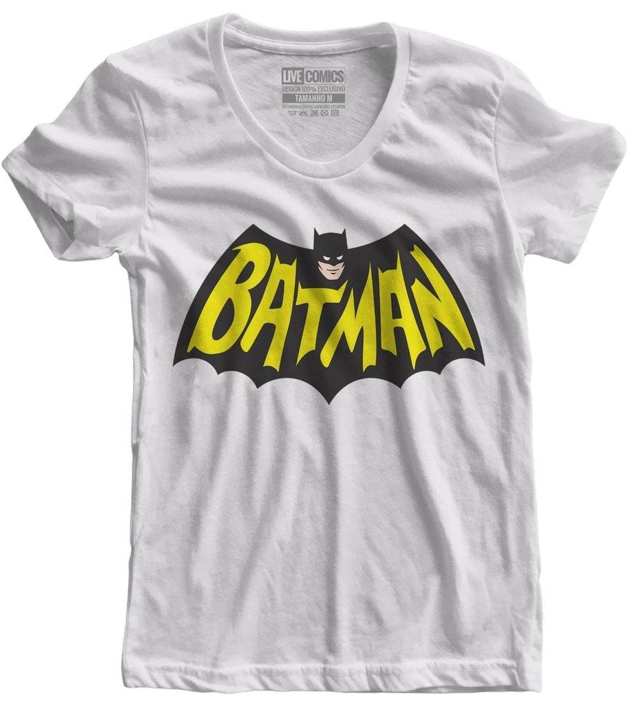 fe37d5506 Camiseta feminina Batman
