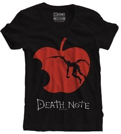 Camiseta feminina Anime Death Note