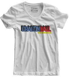 Camiseta feminina Dragon Ball Logo