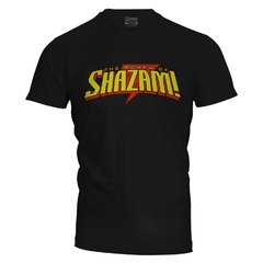 Camiseta masculina The Power of Shazam na internet