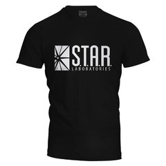 Camiseta masculina Star Labs The Flash na internet