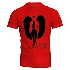 Camiseta masculina Lucifer MorningStar na internet