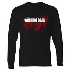Camiseta Manga Longa The Walking Dead