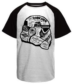 Camiseta raglan Star Wars Storm Trooper Darkside Outlaw