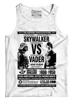 Regata Feminina Skywalker vs Vader Star Wars