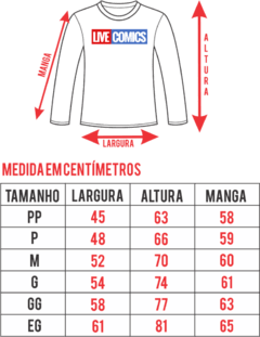 Camiseta Manga Longa - Star Wars Storm Trooper na internet