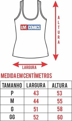 Regata Feminina - The Walking Dead - comprar online