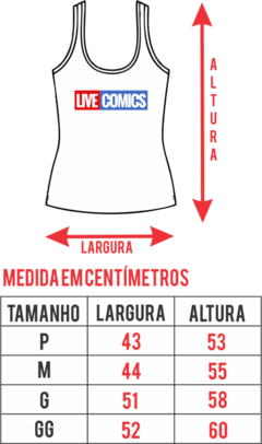 Regata Feminina The Flash - The fastest man alive - comprar online
