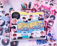 Stickers K-Pop 4 planchas A4 Serie Army - Casa Washi