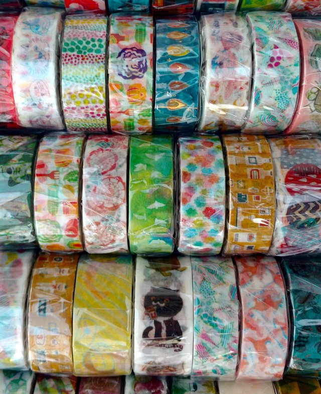 Japanese Washi Space Craft Puntitos de Colores Konpeito