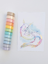 Washi lisa Pastel 15 mm * 8 m MGcity