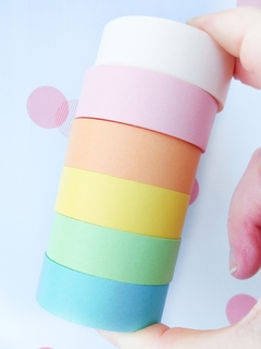Washi lisa Pastel 15 mm * 8 m MGcity en internet