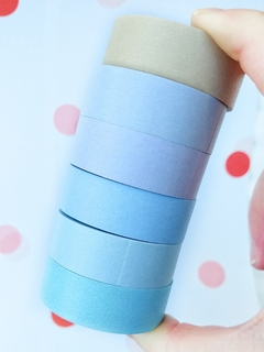 Washi lisa Pastel 15 mm * 8 m MGcity - Casa Washi