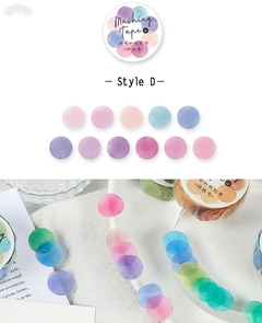 Washi Color DOTS Infeel.me x 100 stickers en internet