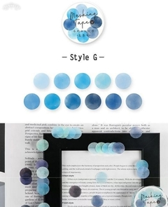 Imagen de Washi Color DOTS Infeel.me x 100 stickers