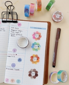 Washi Color DOTS Infeel.me x 100 stickers - Casa Washi