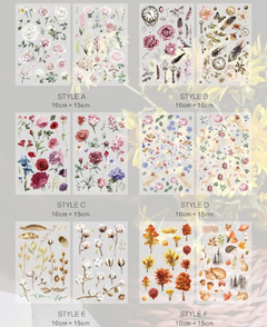 Imagen de Transfer stickers Natural Collection MoCard