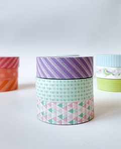 Set Trio 3 Washi estandard 15 mm x 10 m - Casa Washi