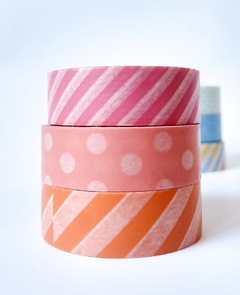 Set Trio 3 Washi estandard 15 mm x 10 m - comprar online