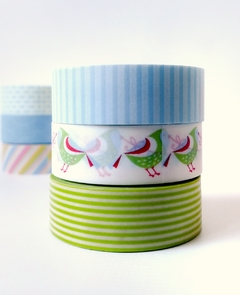 Set Trio 3 Washi estandard 15 mm x 10 m