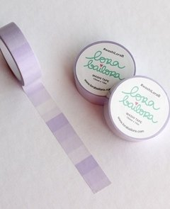 Washi tape 1,5 cm x 10 m DEGRADADO MORADO (lila)