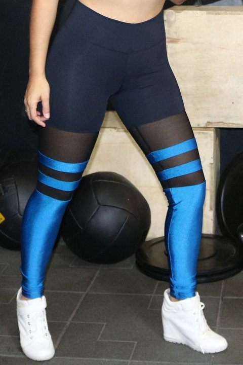 Legging Sock turquea