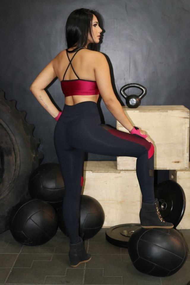 Legging Three Band - Marombeira Fitness