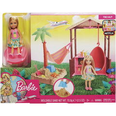 BARBIE EXPLORADORA E DES BARRACA PRAIA - MATTEL