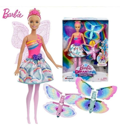 BARBIE FAN FADA ASAS VOADORAS - DREAM TOPIA - MATTEL - comprar online