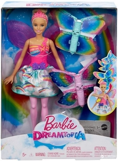 BARBIE FAN FADA ASAS VOADORAS - DREAM TOPIA - MATTEL